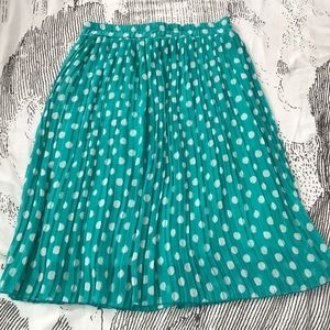 Retro Pleated Skirt from ModCloth